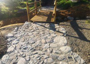 Calade de pierre en Savoie